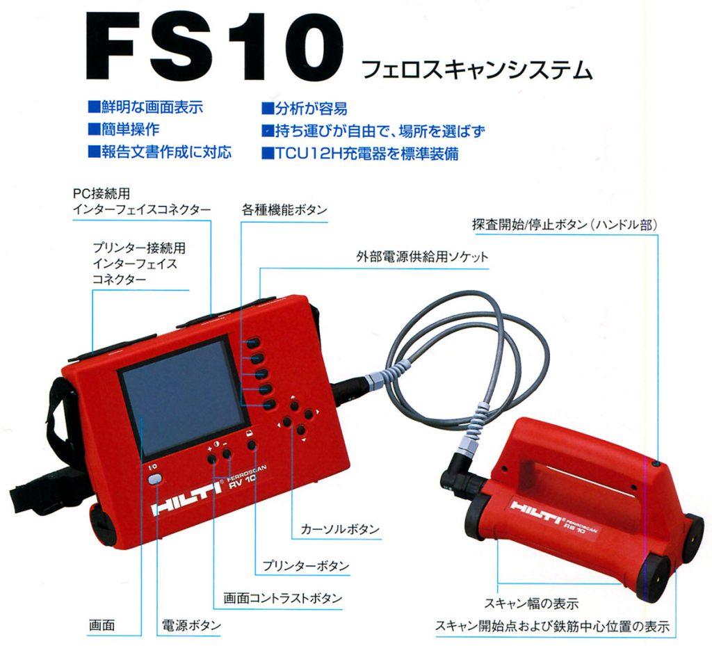 FS10 フェロスキャンシステム