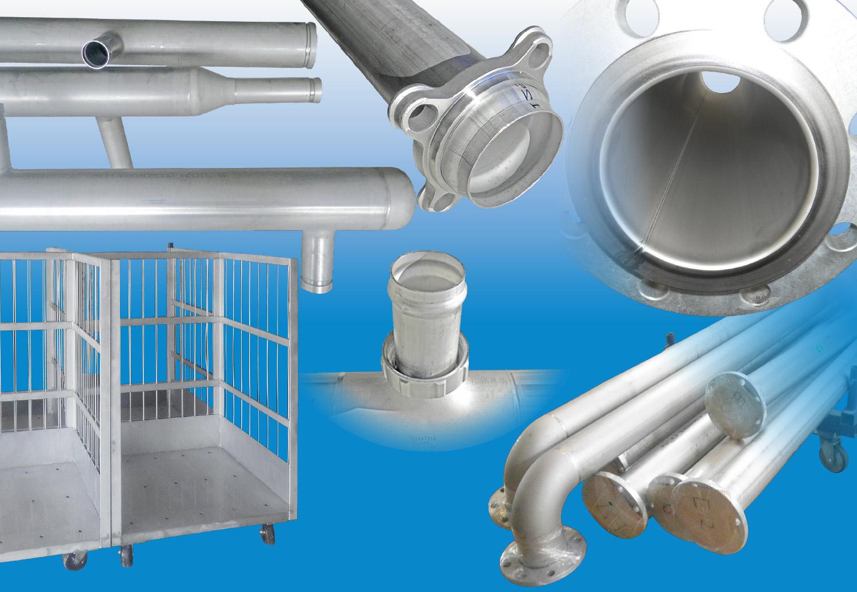ステンレス鋼鋼管加工
